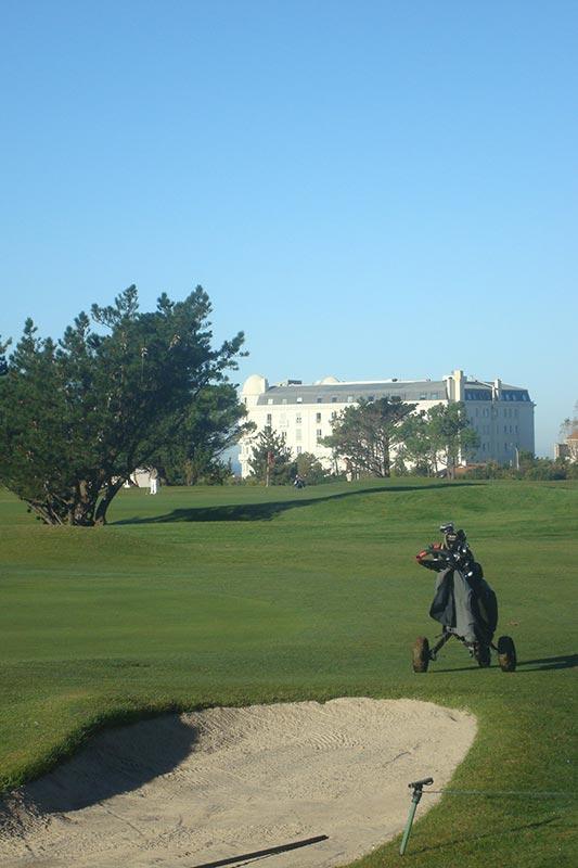 Le Phare | Golf de Biarritz, © Frédéric Duger, professeur de Golf à Biarritz