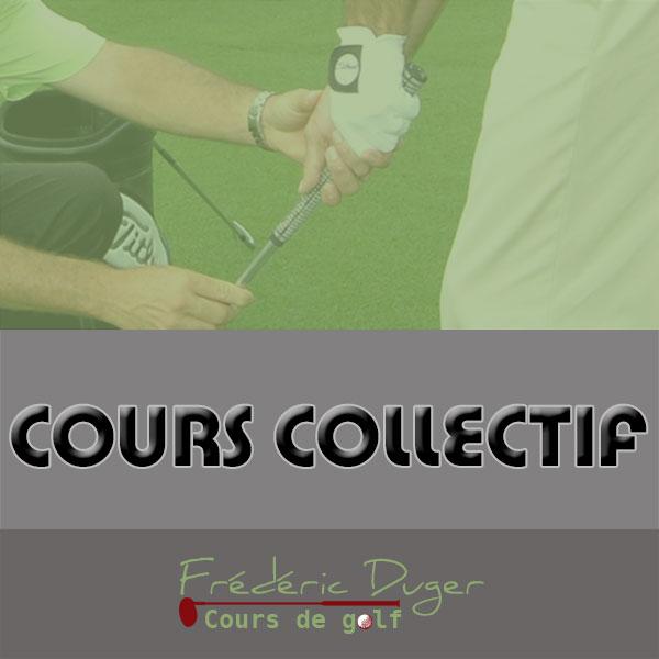 Cours collectif de Golf Biarritz Frédéric Duger