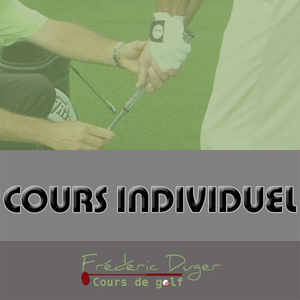 Cours Individuel de Golf Biarritz Frédéric Duger