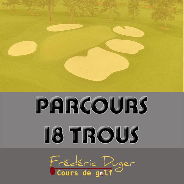 Parcours 18 trous de Golf Biarritz Frédéric Duger