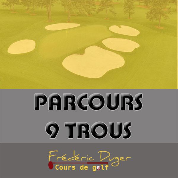 Parcours 9 trous de Golf Biarritz Frédéric Duger