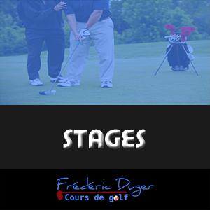 Stages de golf