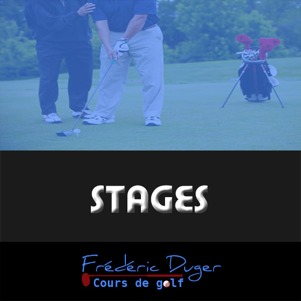 Stages de golf
