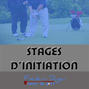 Stage d'initiation de Golf Biarritz Frédéric Duger