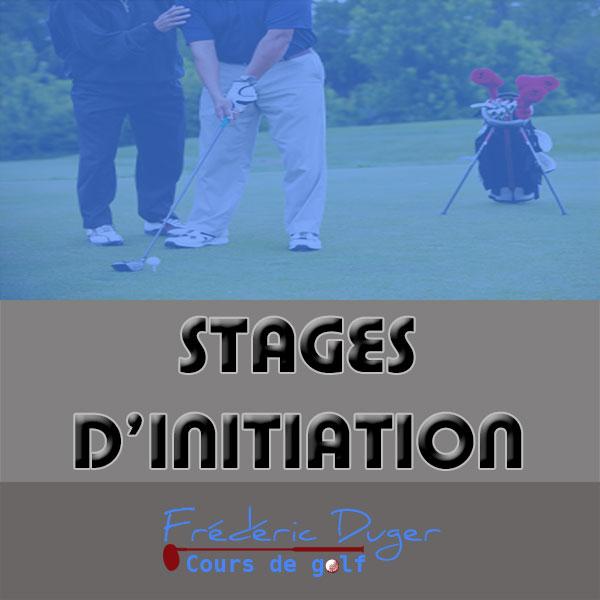 Stage d'initiation de Golf Biarritz Frédéric Duger
