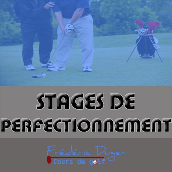 Stage de perfectionnement de Golf Biarritz Frédéric Duger